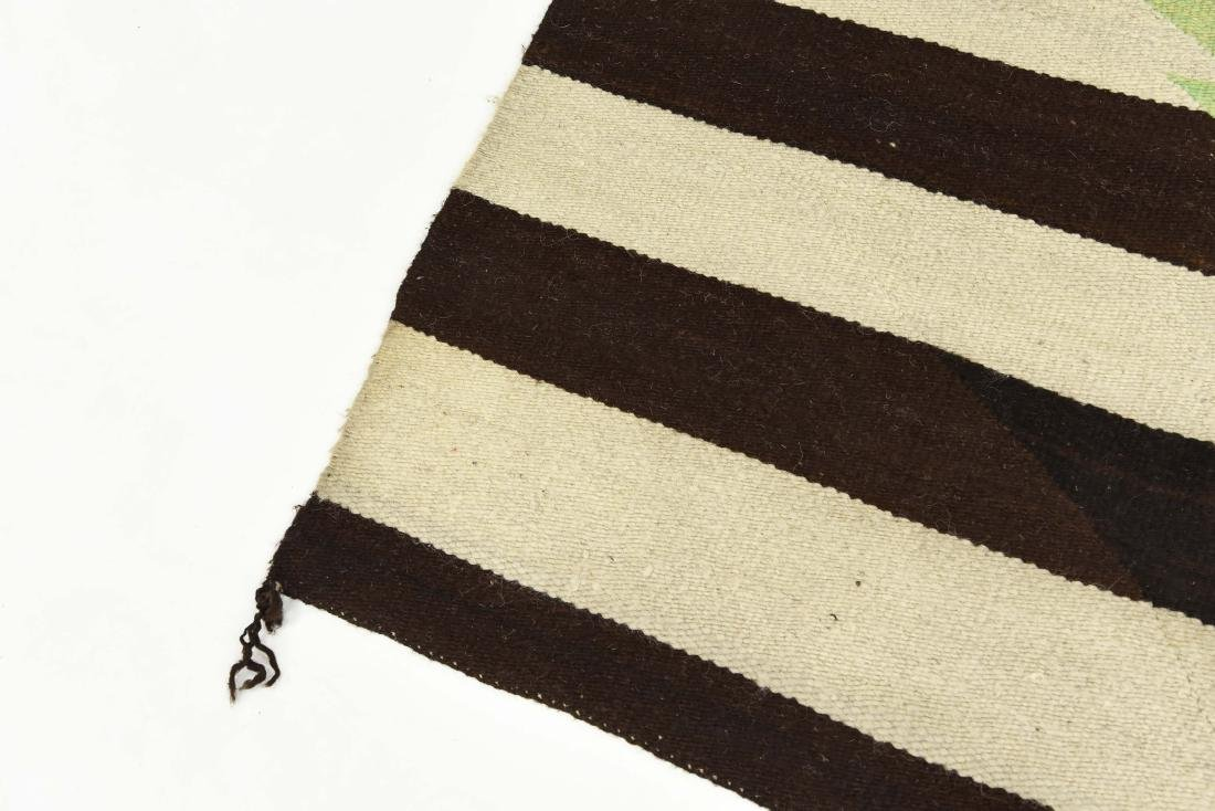 STRIPED NATIVE AMERICAN THROW RUG - 3