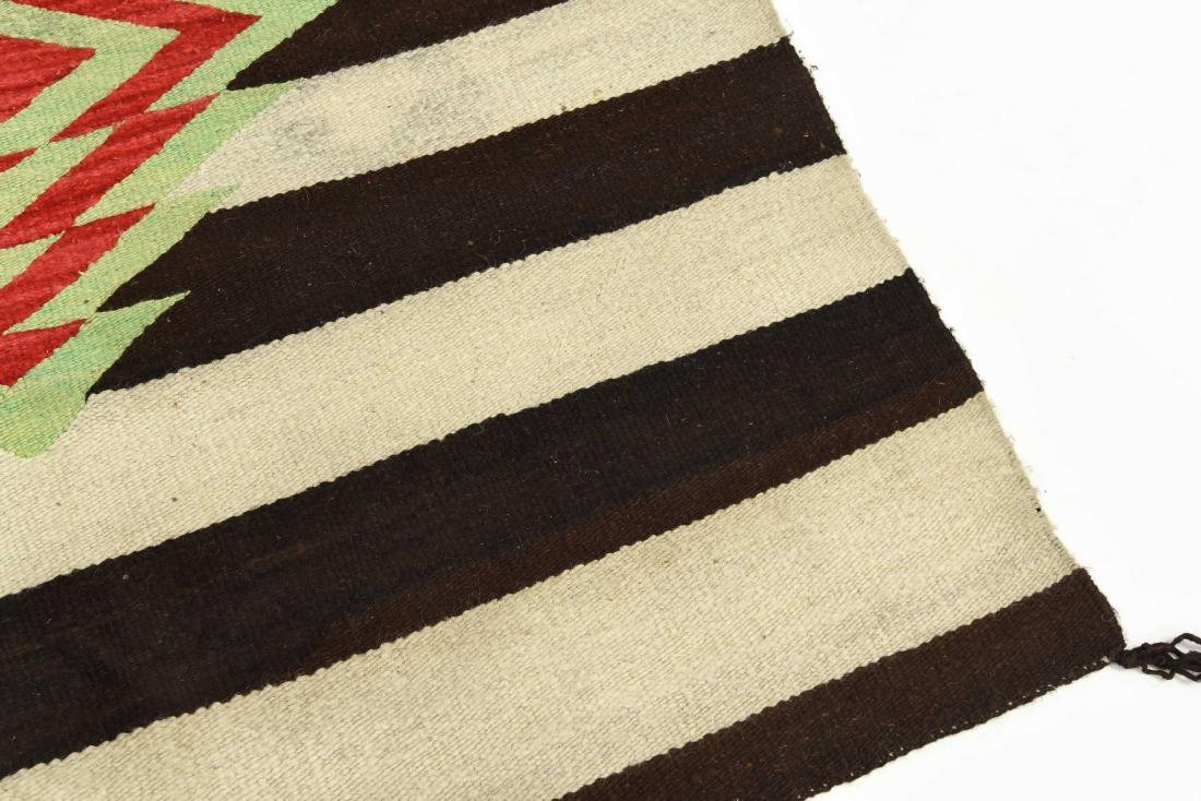 STRIPED NATIVE AMERICAN THROW RUG - 4