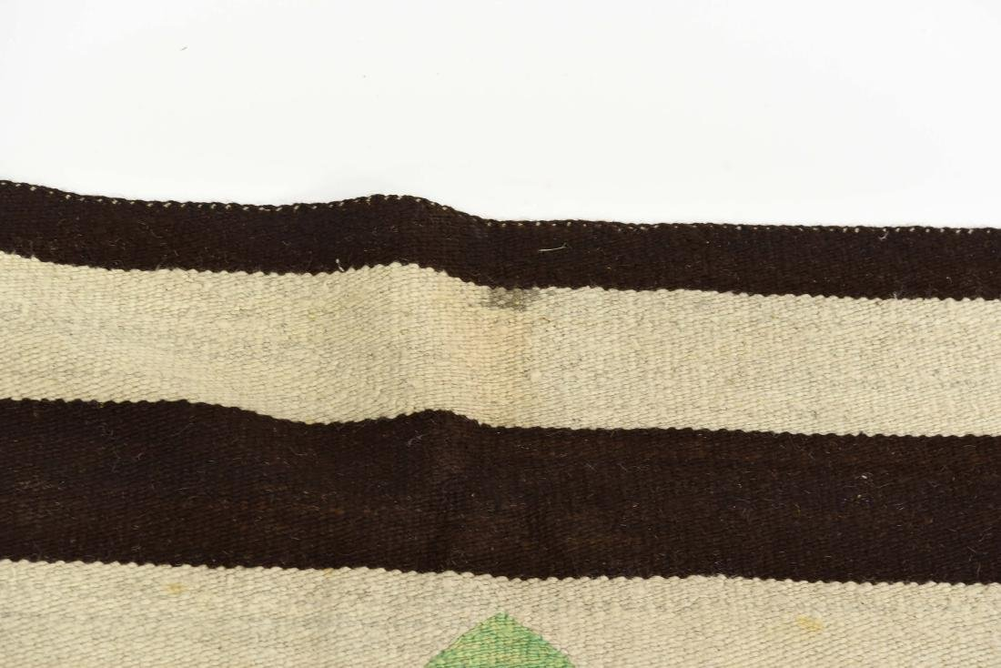 STRIPED NATIVE AMERICAN THROW RUG - 5