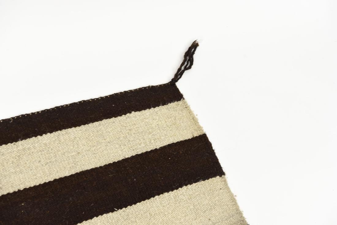 STRIPED NATIVE AMERICAN THROW RUG - 6