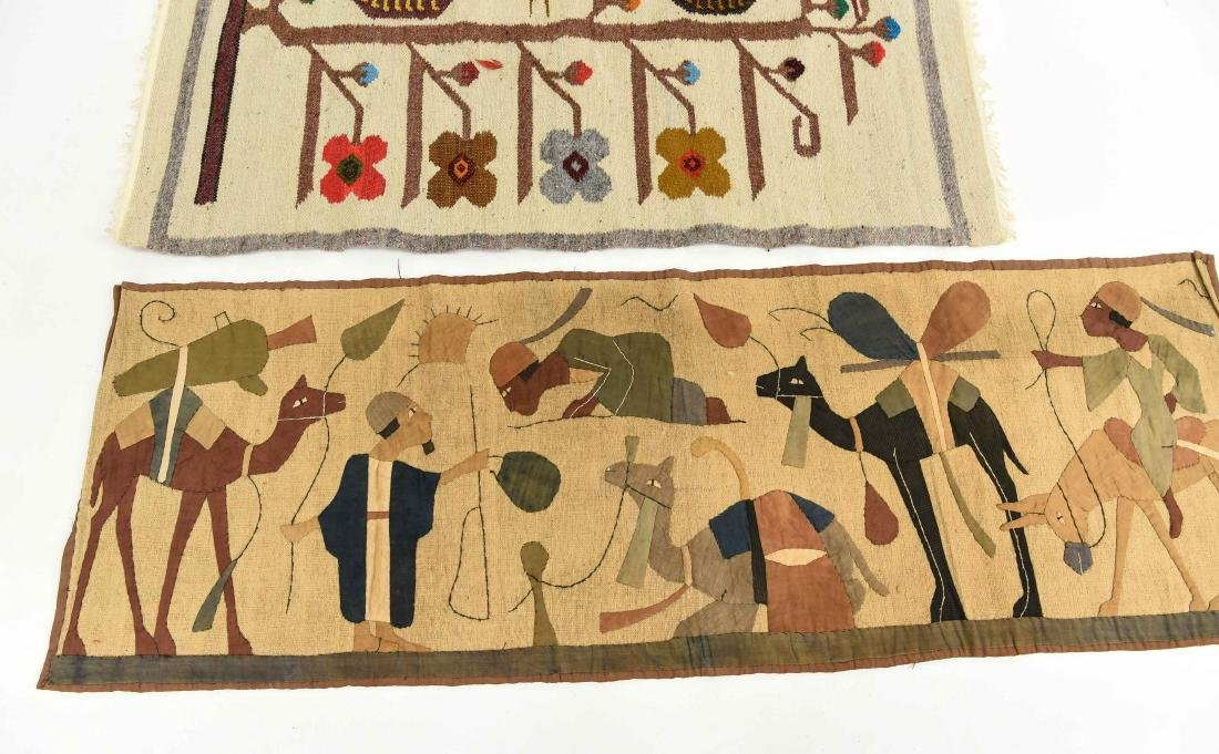 (2) WOOL RUGS EGYPTIAN & SOUTH AMERICAN - 3