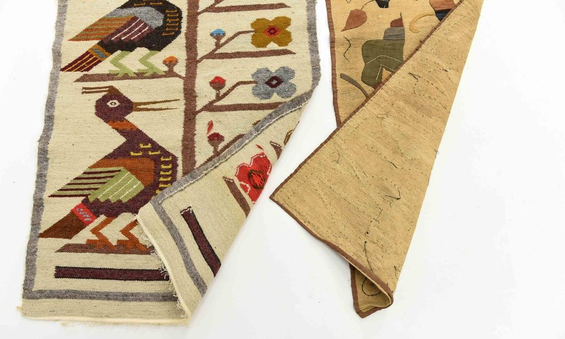 (2) WOOL RUGS EGYPTIAN & SOUTH AMERICAN - 6