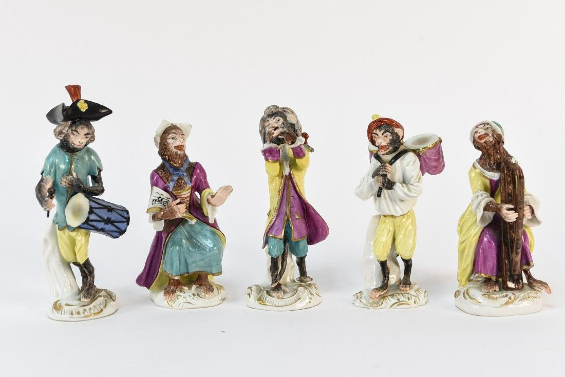 MONKEY ORCHESTRA IN THE MANNER OF MEISSEN