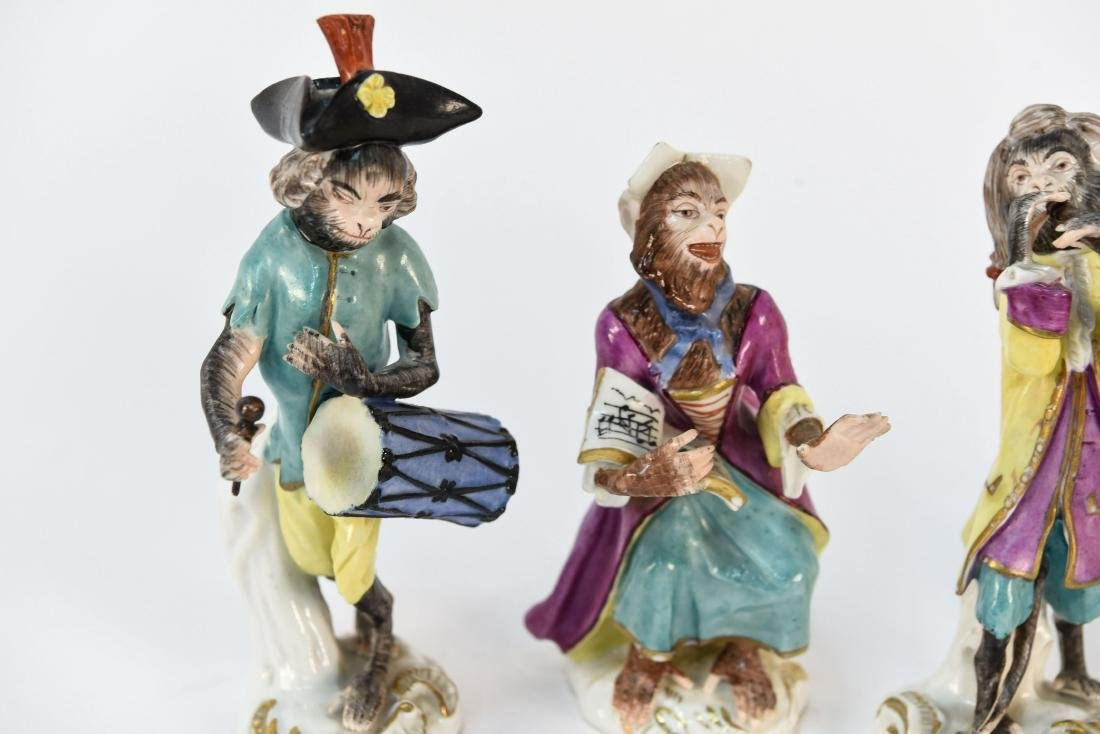 MONKEY ORCHESTRA IN THE MANNER OF MEISSEN - 4