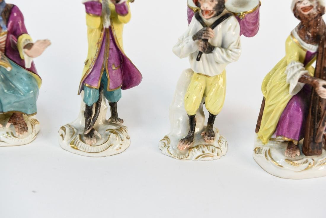 MONKEY ORCHESTRA IN THE MANNER OF MEISSEN - 5