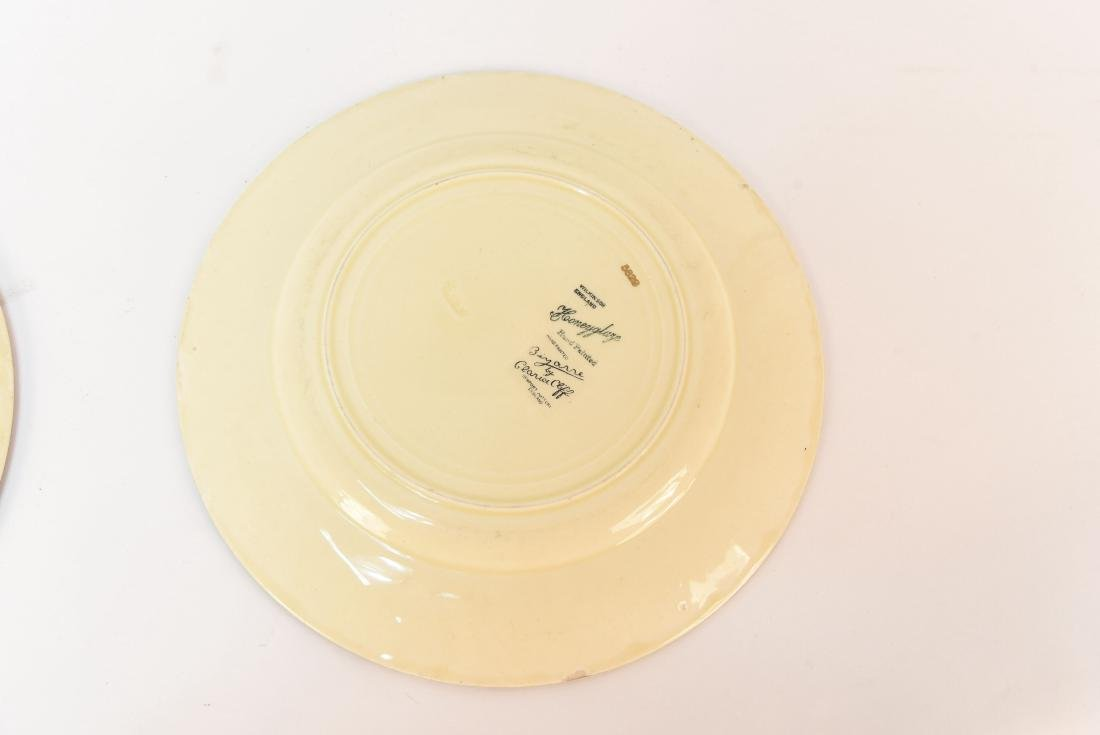 (2) CLARICE CLIFF PLATES - 9