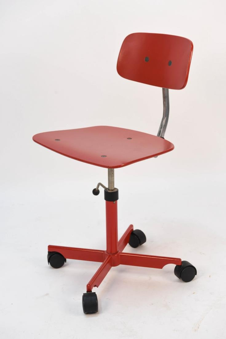 RED KEVI OFFICE CHAIR