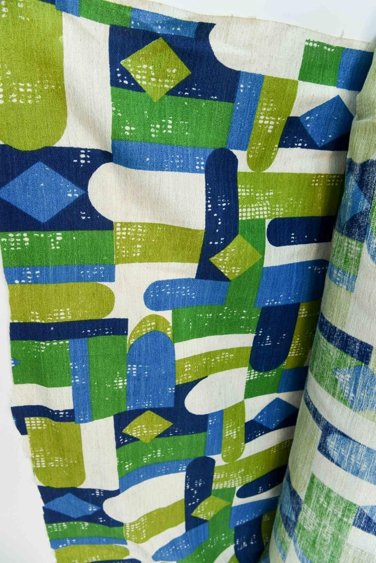 MID CENTURY FABRIC BOLD APPROX 50 YARDS - 3