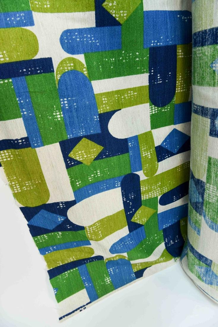 MID CENTURY FABRIC BOLD APPROX 50 YARDS - 4
