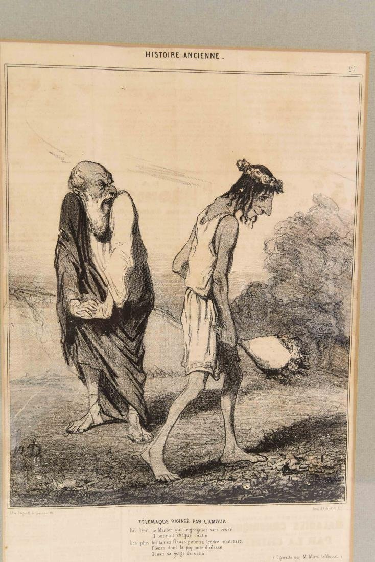 HONORE DAUMIER (FRENCH 1808 -1879) - 2
