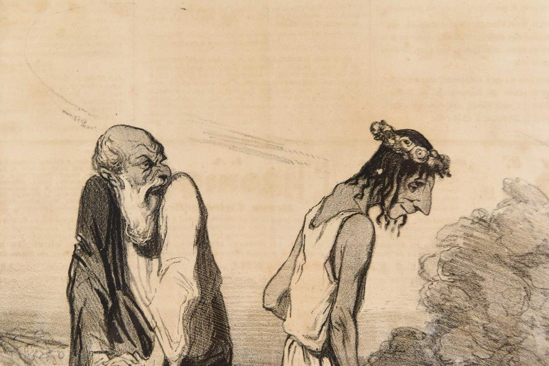 HONORE DAUMIER (FRENCH 1808 -1879) - 4
