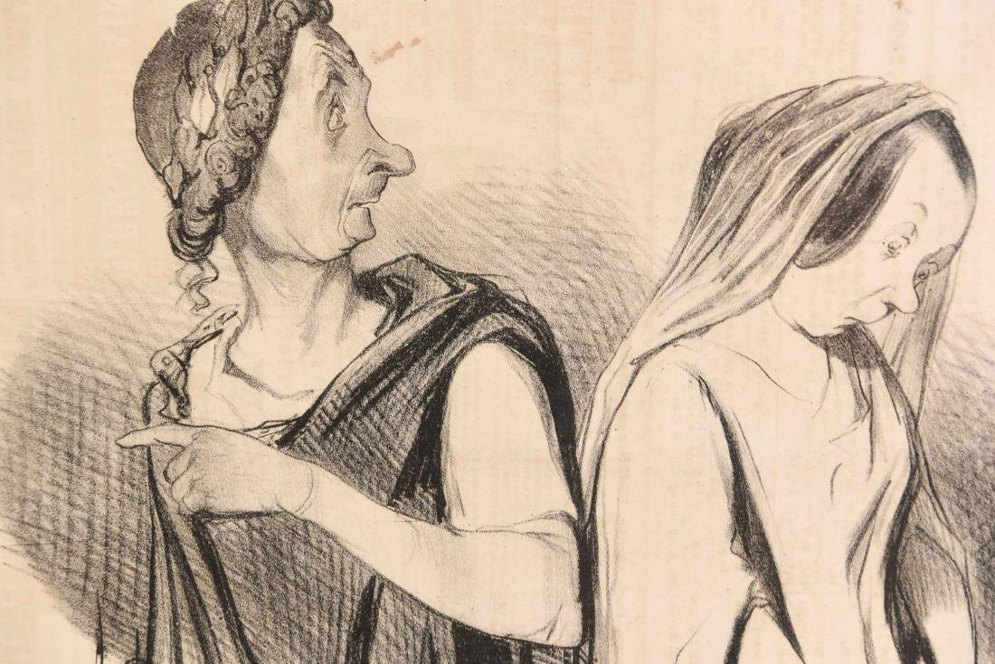 HONORE DAUMIER (FRENCH 1808 -1879) - 7