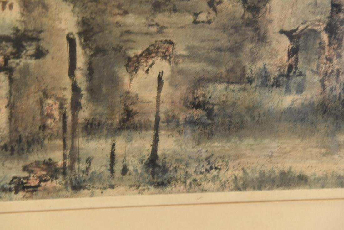 JAPANESE MODERNIST ABSTRACT WATERCOLOR - 7