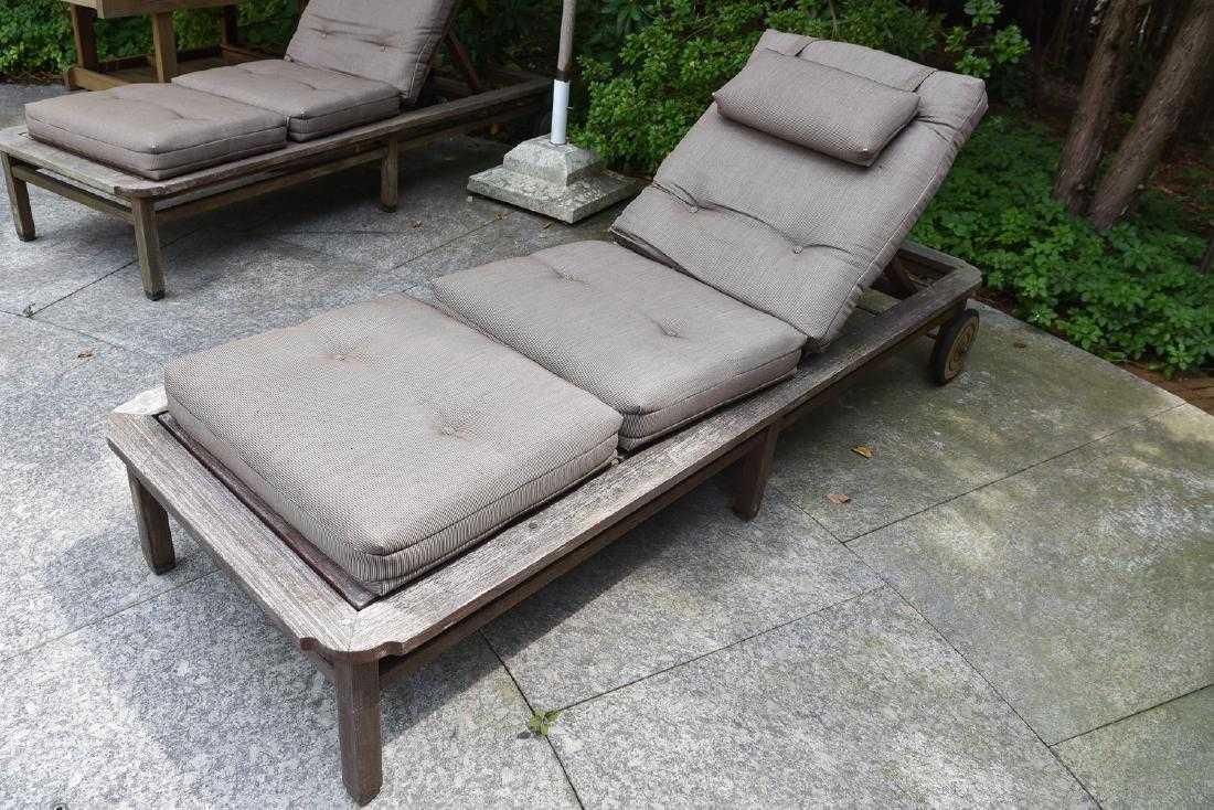 3 Giati Teak Outdoor Lounge Chairs