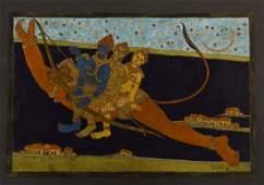 TOOFAN RAFAI, THREE INDIAN GODS