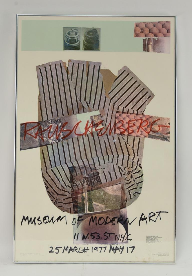 ROBERT RAUSCHENBERG (AMERICAN 1925-2008)