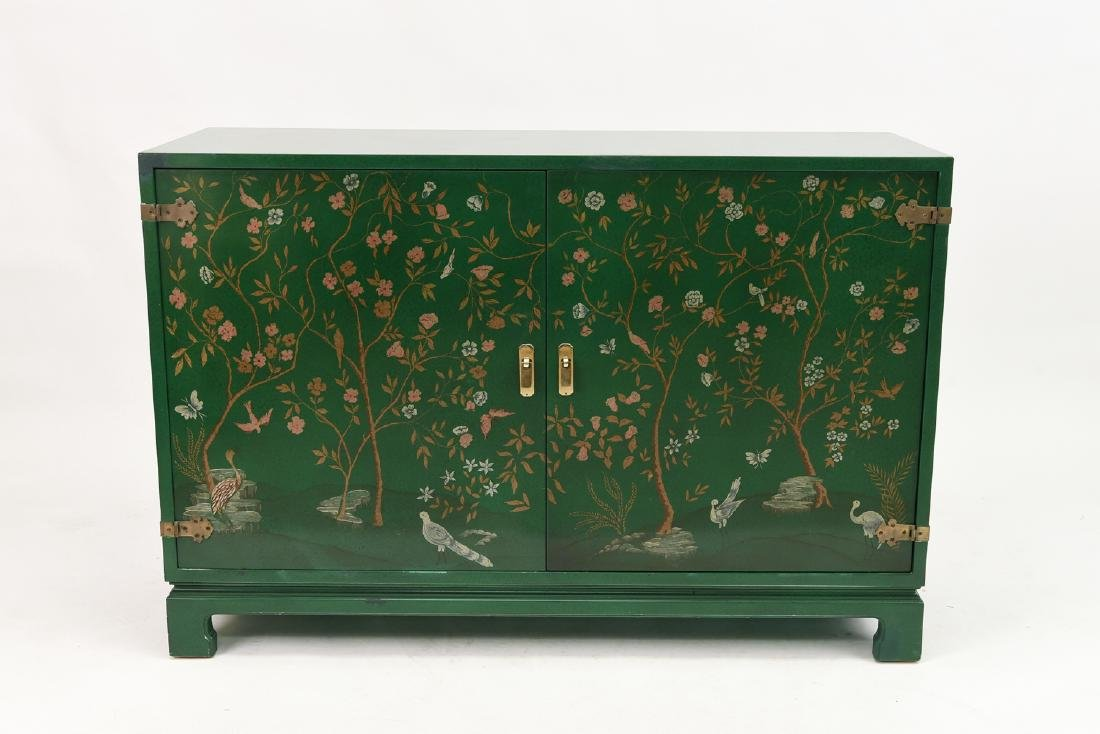 WIDDICOMB ASIAN STYLE LACQUERED COMMODE