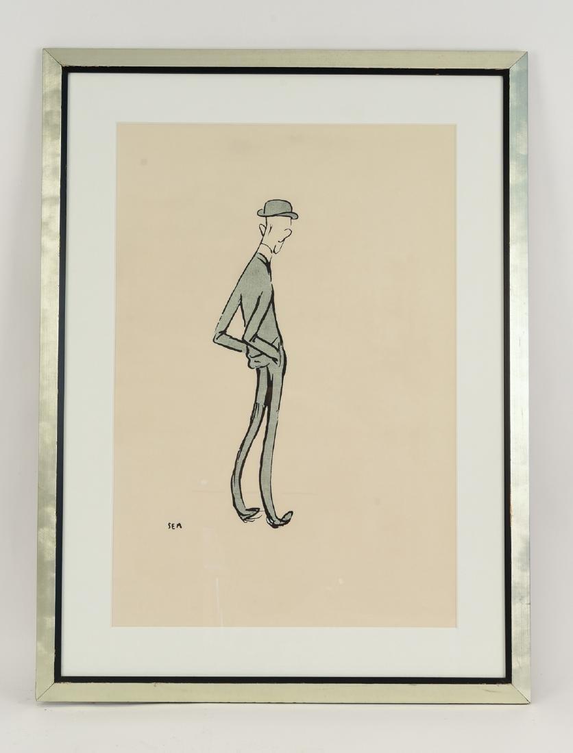 SEM GEORGE GOURSAT ( FRENCH 1863-1934)
