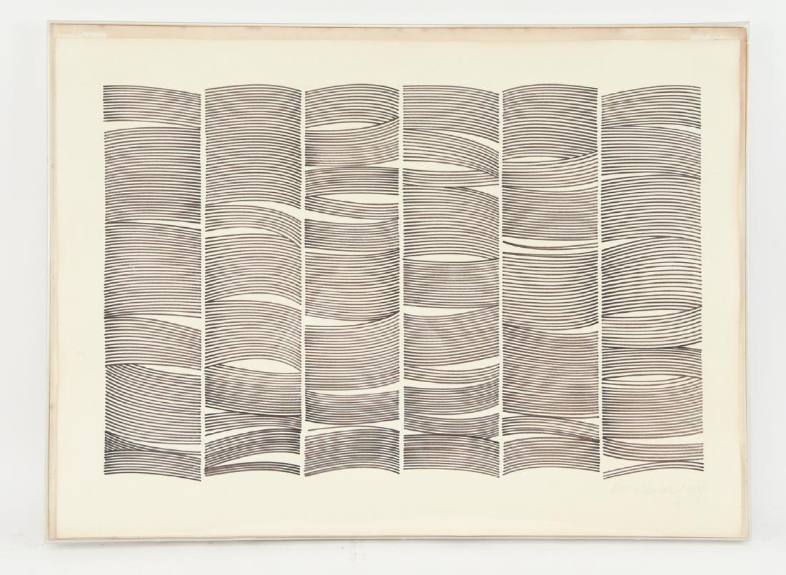 ALAN W. ROWLAND OP ART, 1979