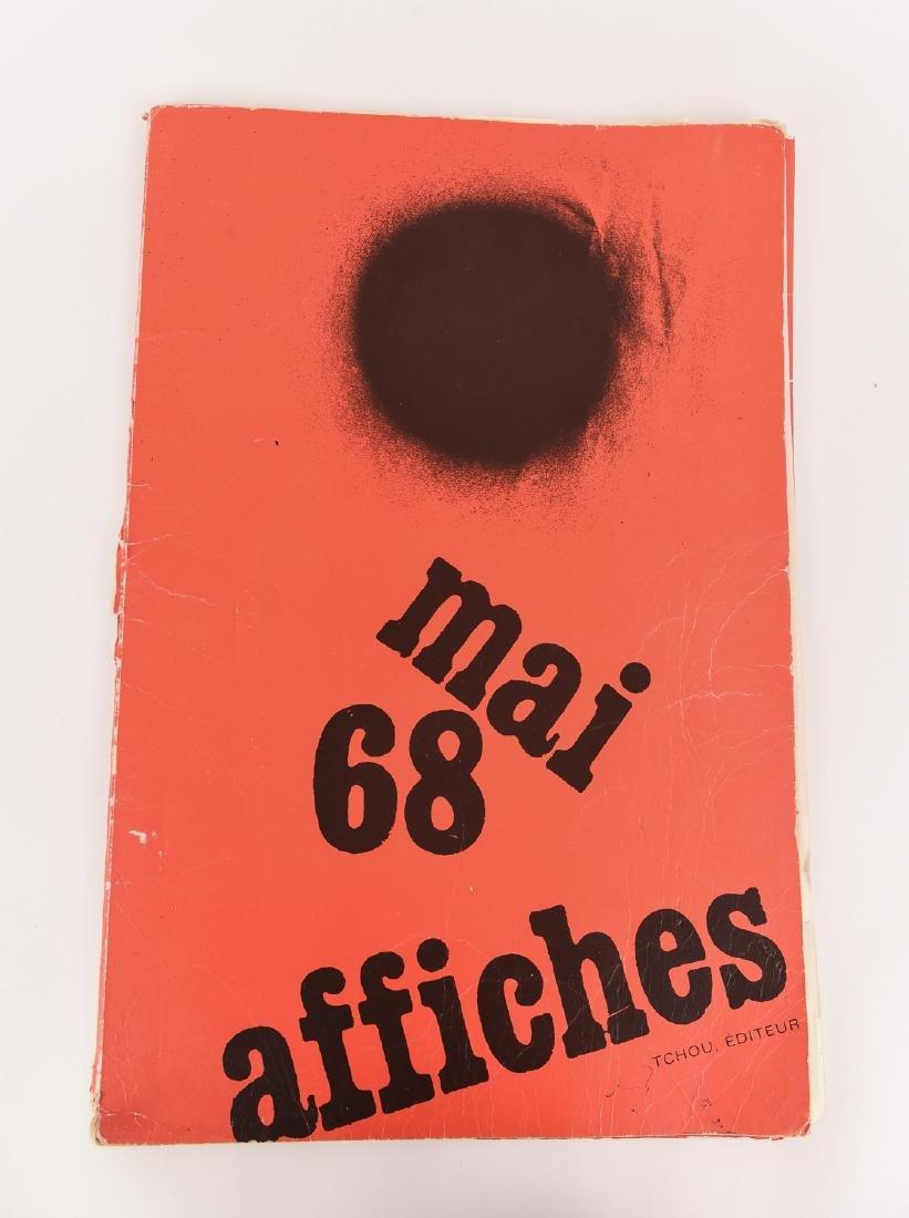 PORTFOLIO TCHOU EDITEUR MAI 1968 A AFFICHES