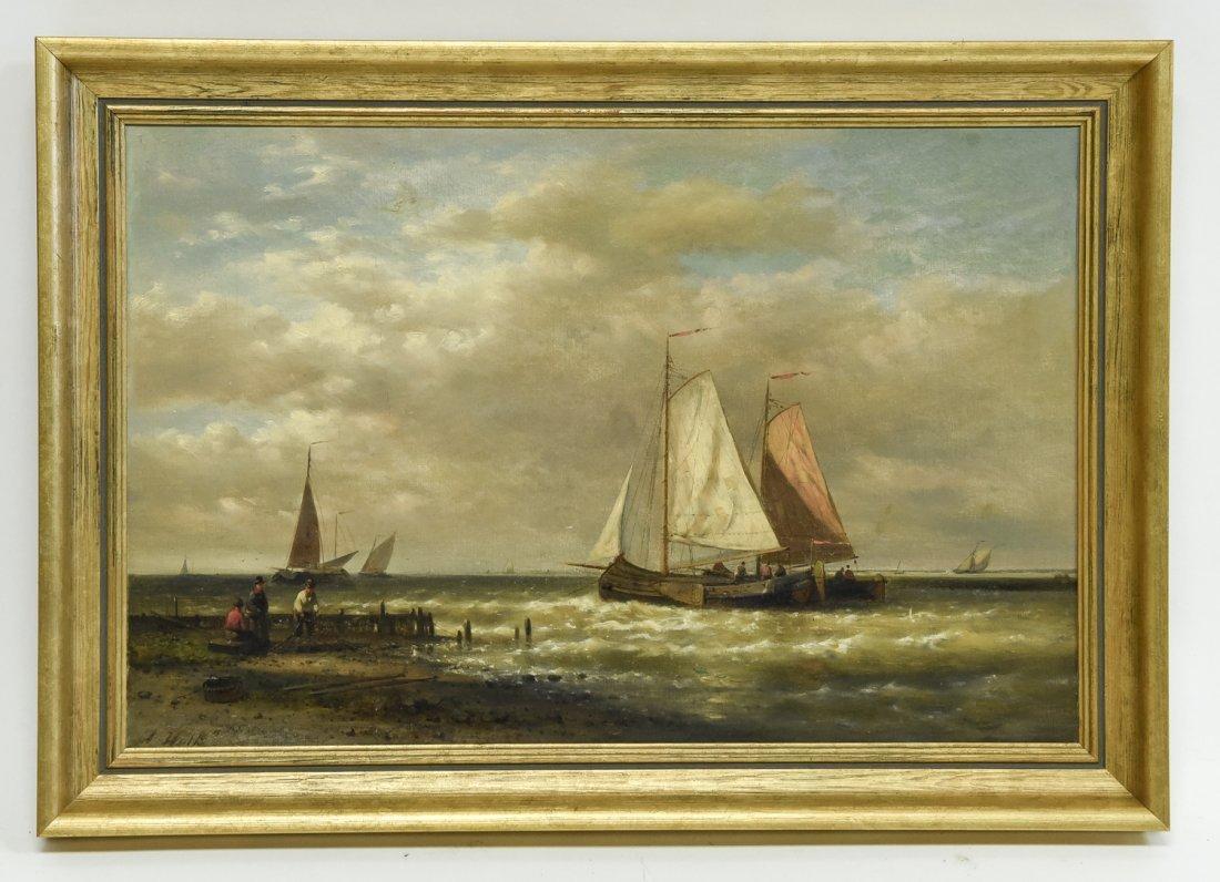 ABRAHAM HULK ( DUTCH/ BRITISH 1813 - 897)