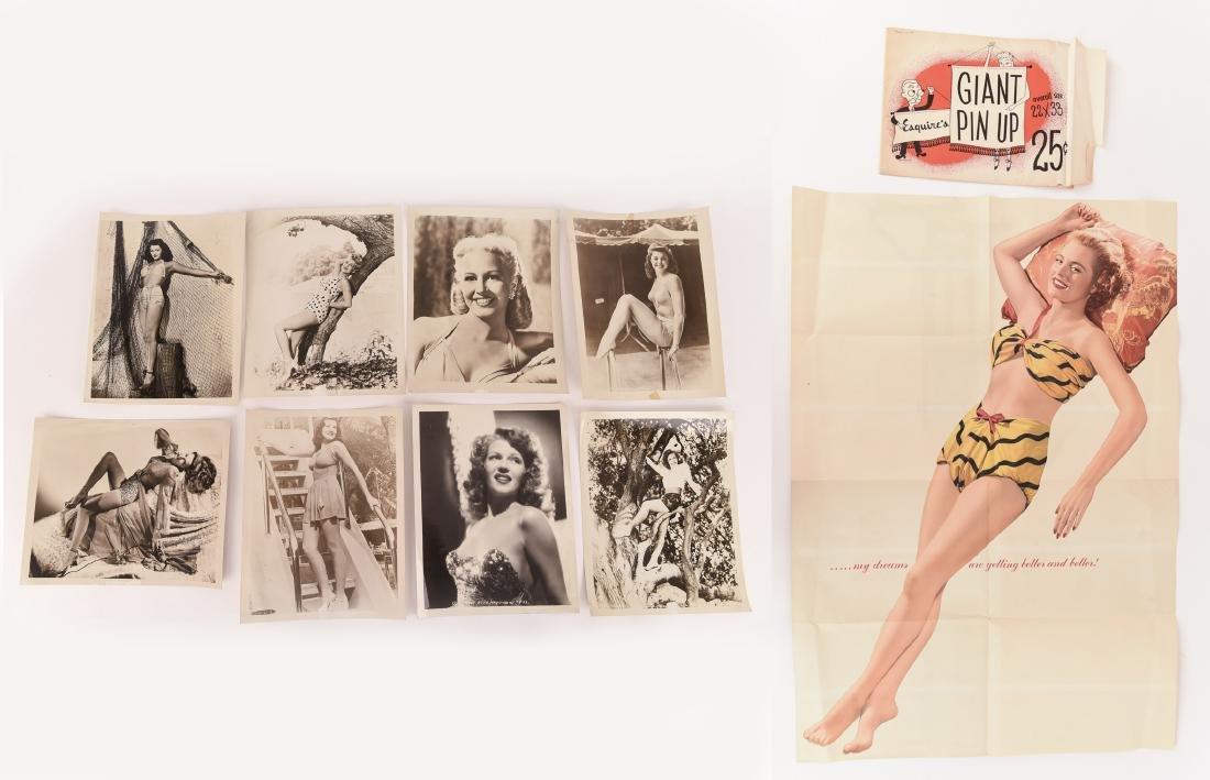 1940S PIN-UP PHOTOS & PRINT