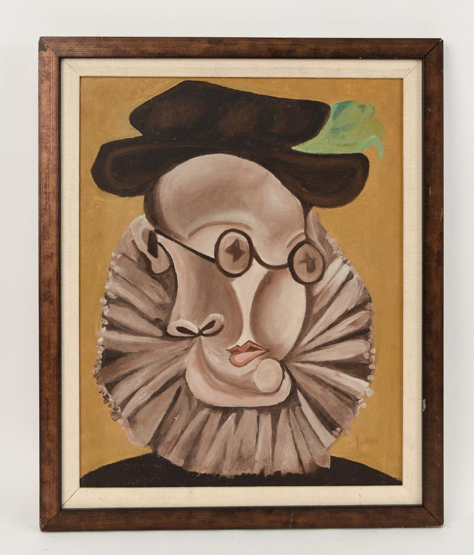 AFTER PICASSO PORTRAIT PAINTING