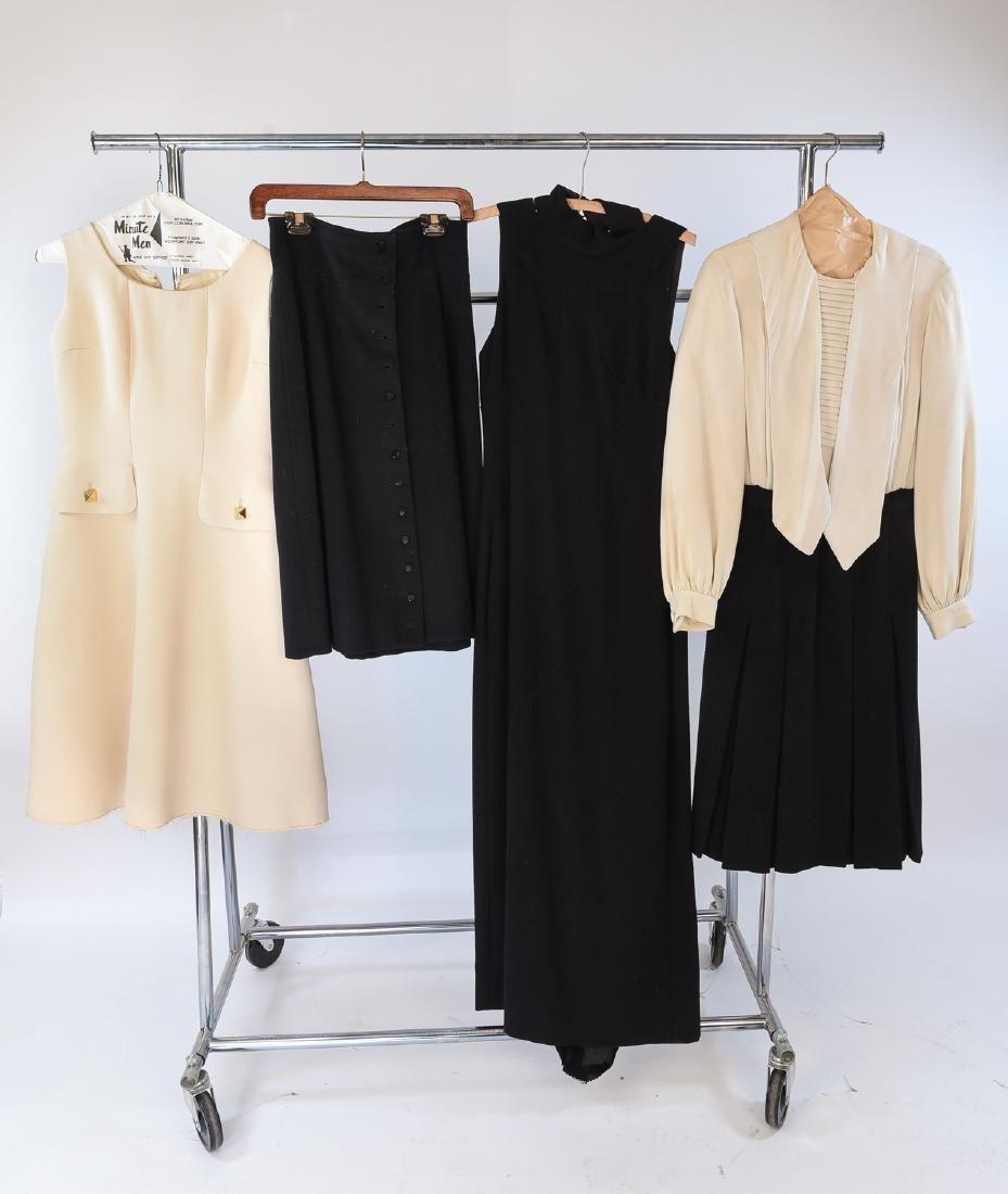 VINTAGE DRESSES AND SKIRT