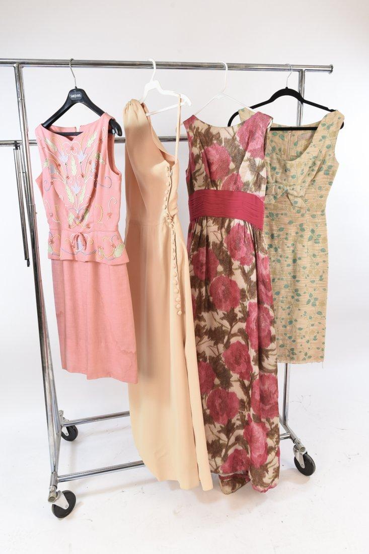 VINTAGE DRESSES/EVENING GOWNS