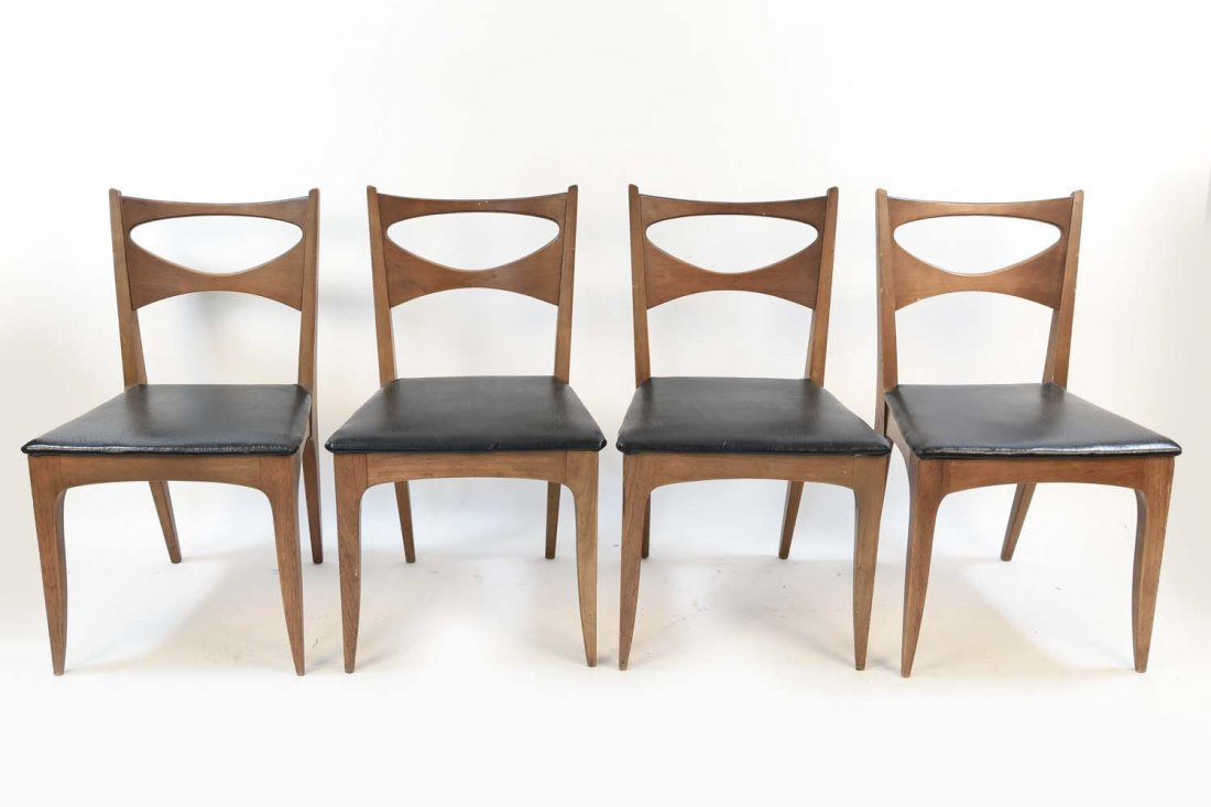 FOUR DREXEL CHAIRS