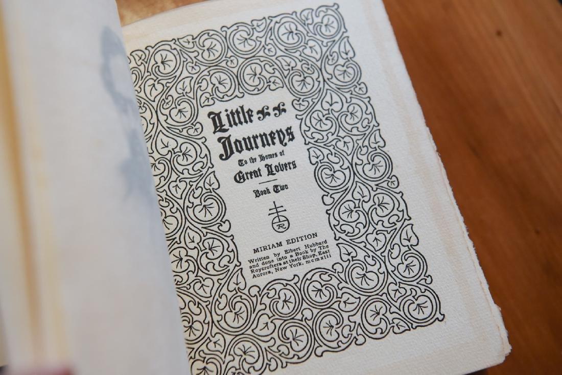 LITTLE JOURNEYS ELBERT HUBBARD BOOK