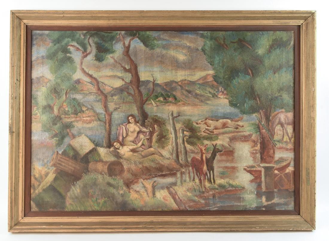 ARTHUR BOWEN DAVIES (AMERICAN 1862-1928)