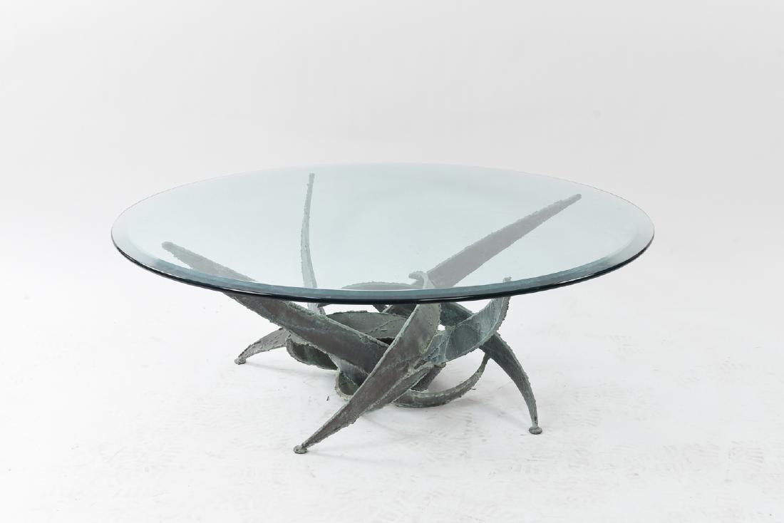 SILAS SEANDEL BRUTALIST COFFEE TABLE