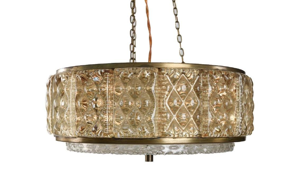 CARL FAGERLUND FOR ORREFORS CHANDELIER