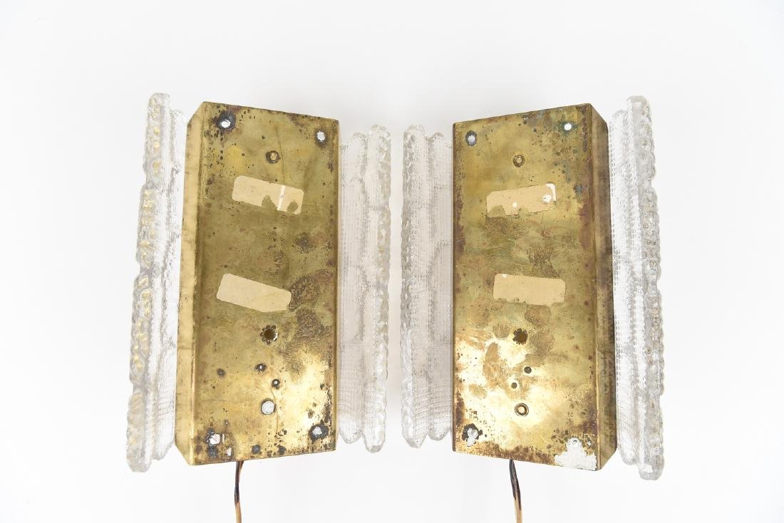 PAIR OF CARL FAGERLUND FOR ORREFORS SCONCES - 7