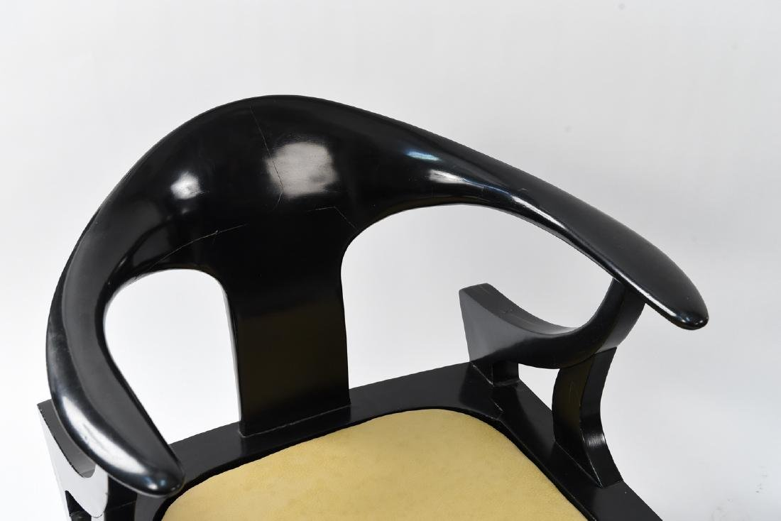 MANNER OF JAMES MONT LAQUERED ARM CHAIRS - 3