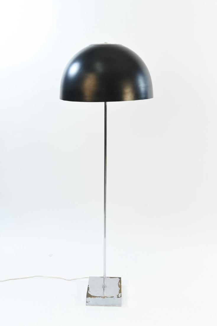 ROBERT SONNEMAN CHROME FLOOR LAMP