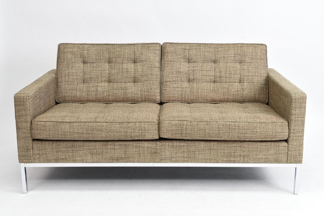FLORENCE KNOLL LOVESEAT SOFA