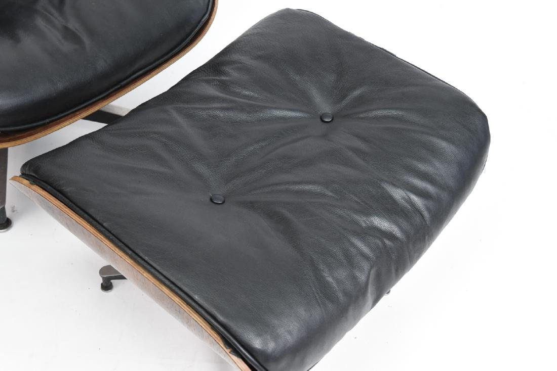 HERMAN MILLER EAMES LOUNGE AND OTTOMAN - 2