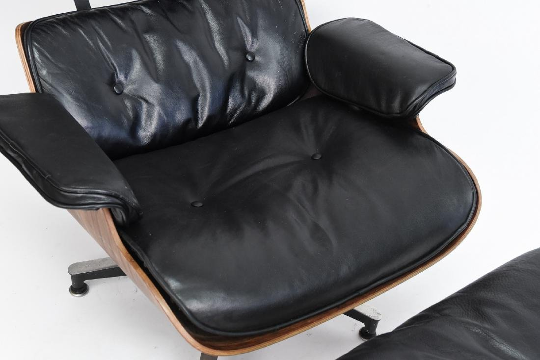 HERMAN MILLER EAMES LOUNGE AND OTTOMAN - 3