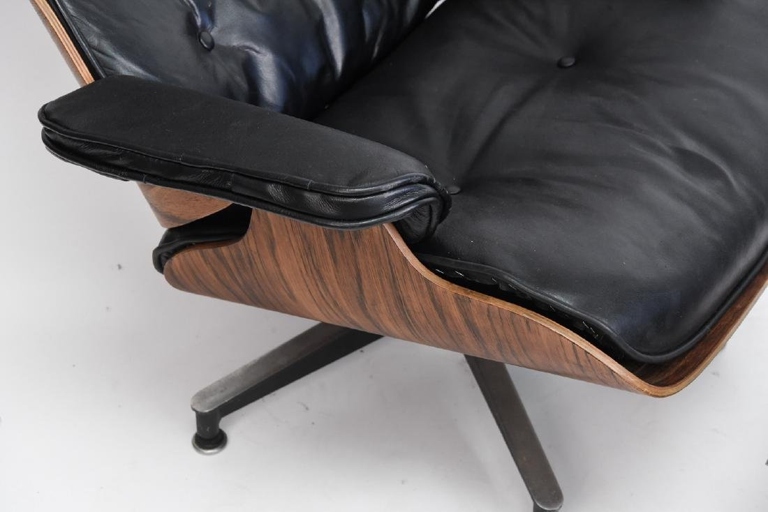 HERMAN MILLER EAMES LOUNGE AND OTTOMAN - 5
