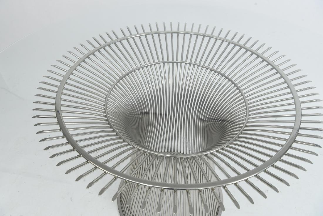 WARREN PLATNER FOR KNOLL DINING TABLE - 3