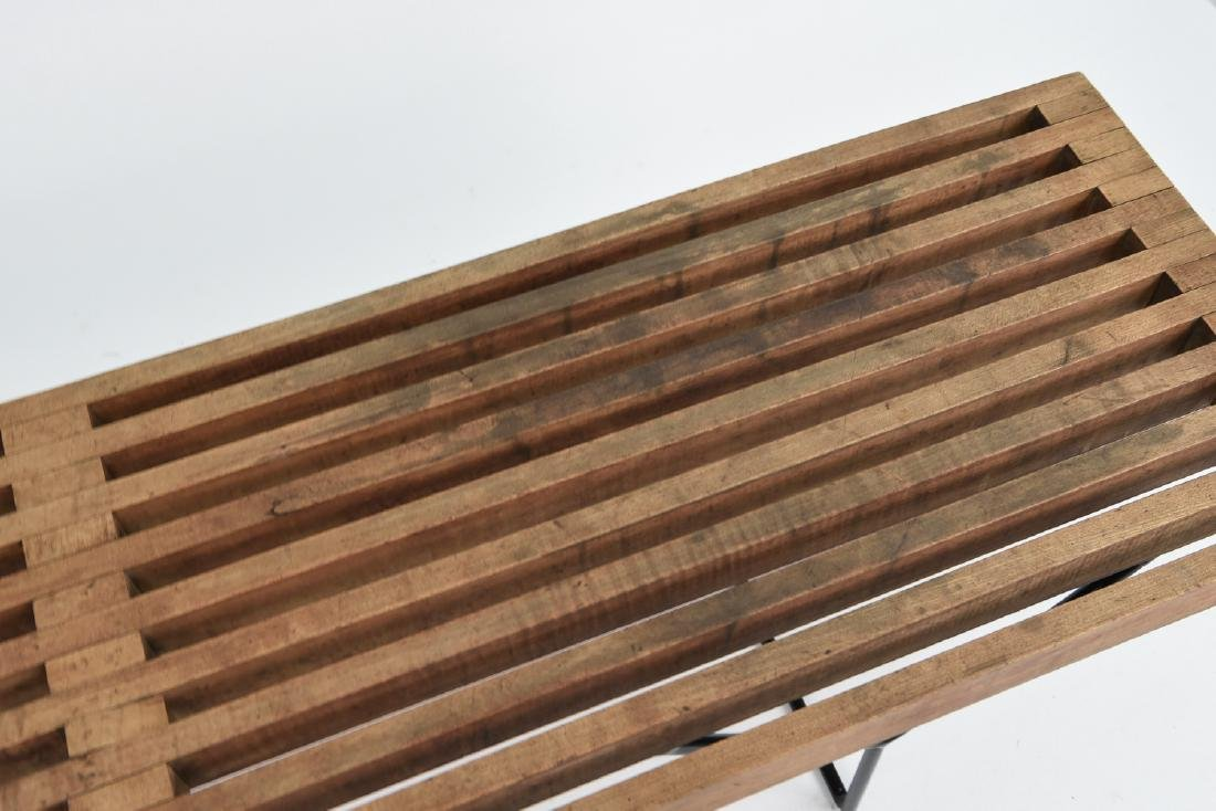 HARRY BERTOIA SLAT BENCH BY KNOLL - 2