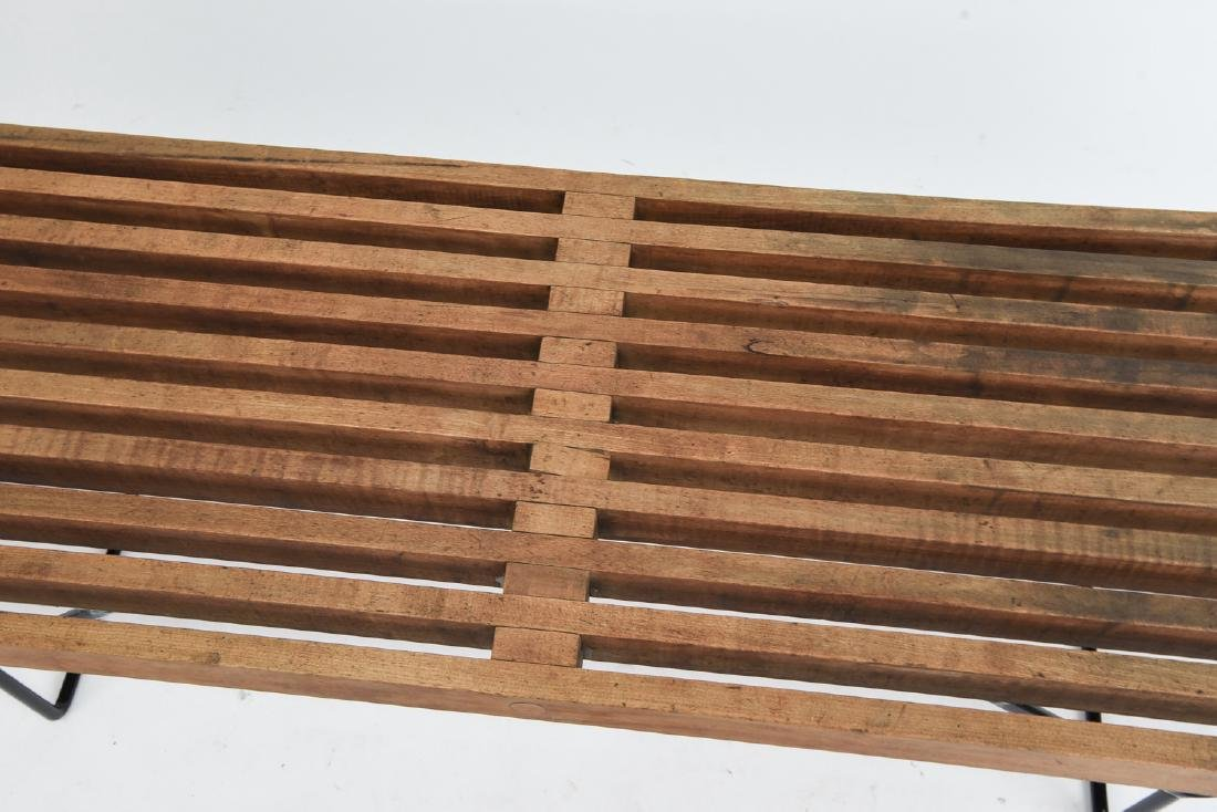 HARRY BERTOIA SLAT BENCH BY KNOLL - 3