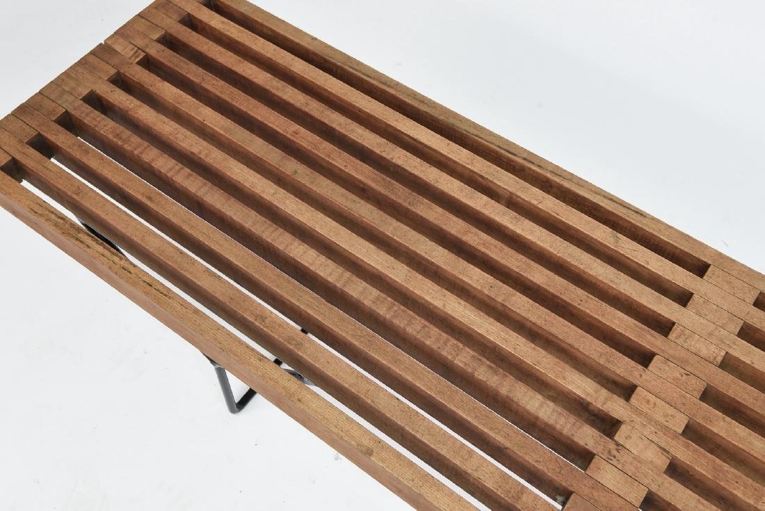 HARRY BERTOIA SLAT BENCH BY KNOLL - 4