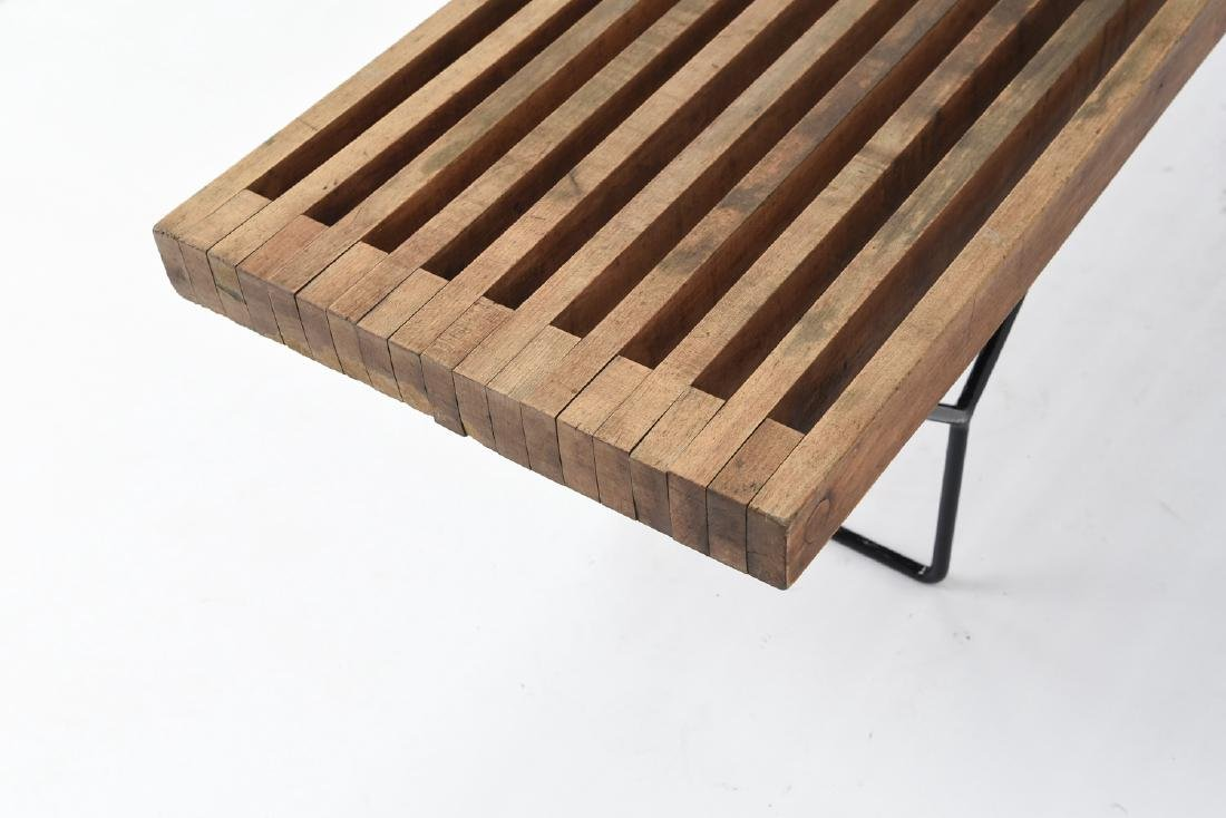 HARRY BERTOIA SLAT BENCH BY KNOLL - 6
