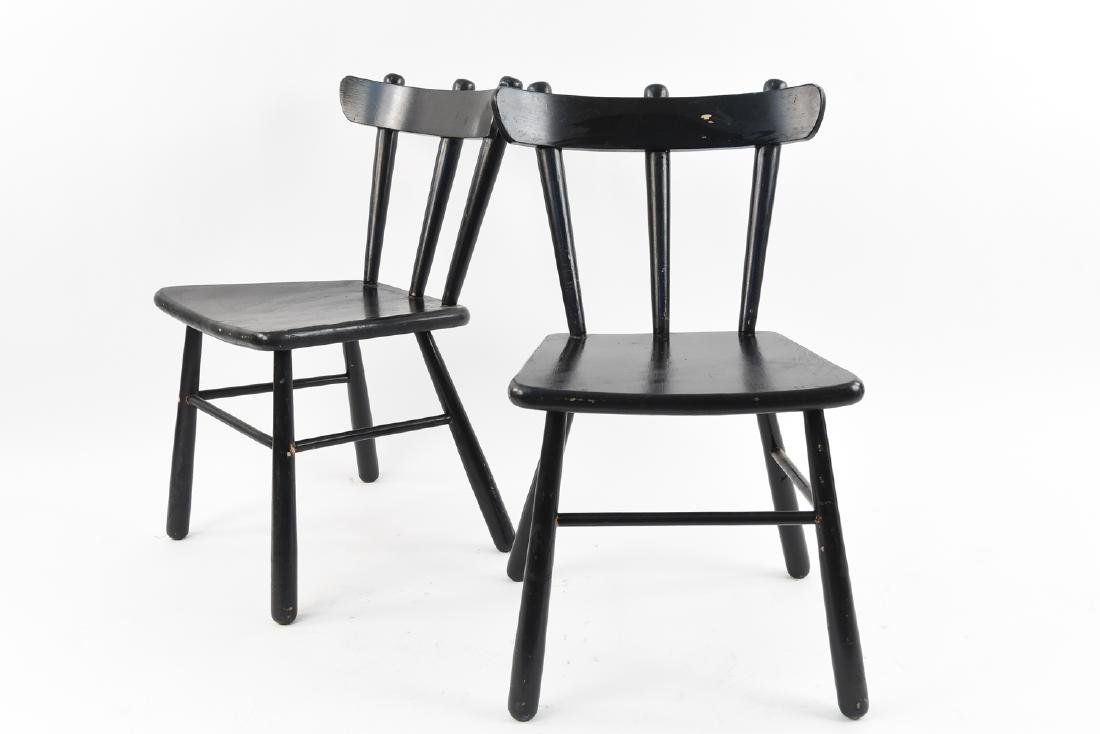 PAIR OF CHAIRS ATTR. PHILIP ARCTANDER