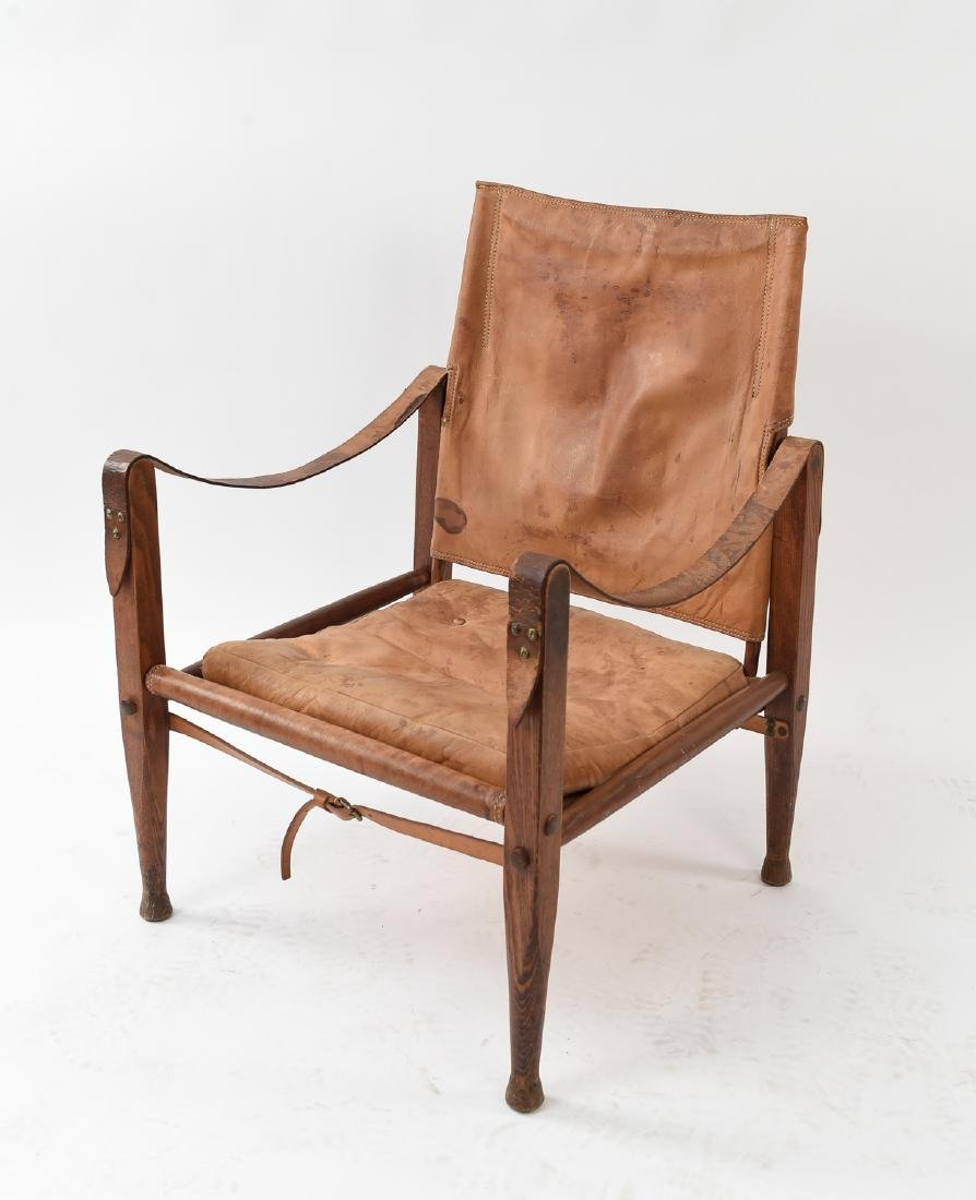 KAARE KLINT SAFARI LEATHER EASY CHAIR