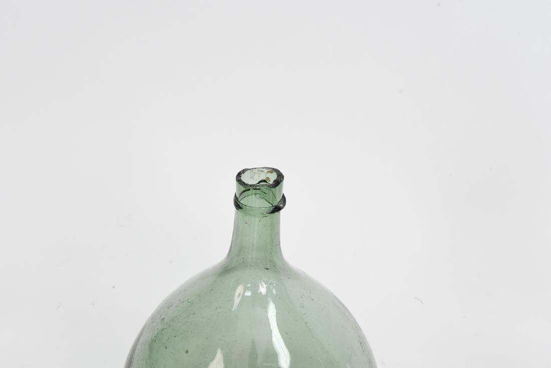 LARGE GLASS BOTTLE VASE GROUPING - 6