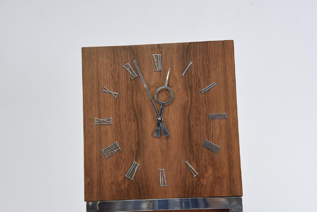 MID-CENTURY GRANDFATHER FLOOR CLOCK - 2